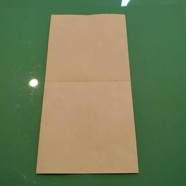 8月の折り紙 浴衣の折り方作り方①折り方(7)