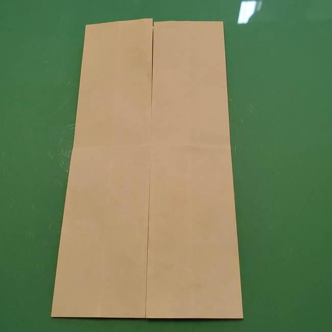 8月の折り紙 浴衣の折り方作り方①折り方(9)