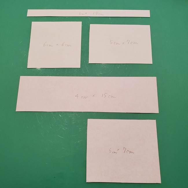 8月の折り紙 浴衣の折り方作り方②帯と組み合わせ(1)