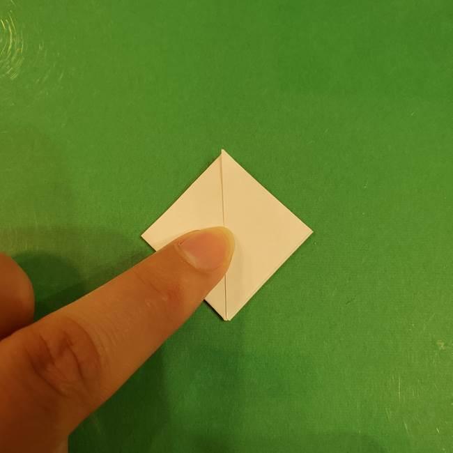 お月見団子のの折り紙(立体)の折り方作り方(14)
