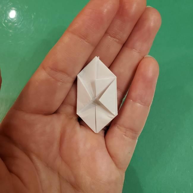 お月見団子のの折り紙(立体)の折り方作り方(20)
