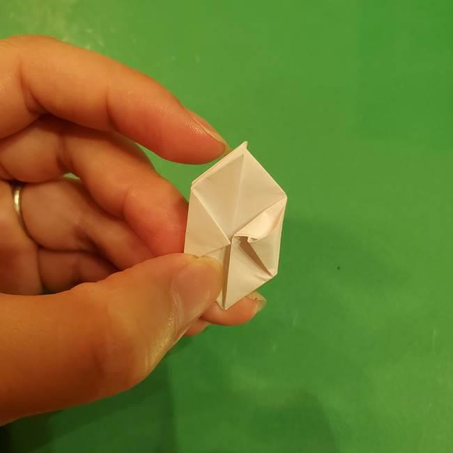 お月見団子のの折り紙(立体)の折り方作り方(22)