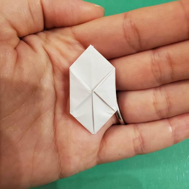 お月見団子のの折り紙(立体)の折り方作り方(23)