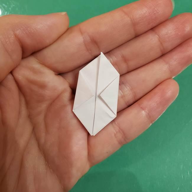 お月見団子のの折り紙(立体)の折り方作り方(24)
