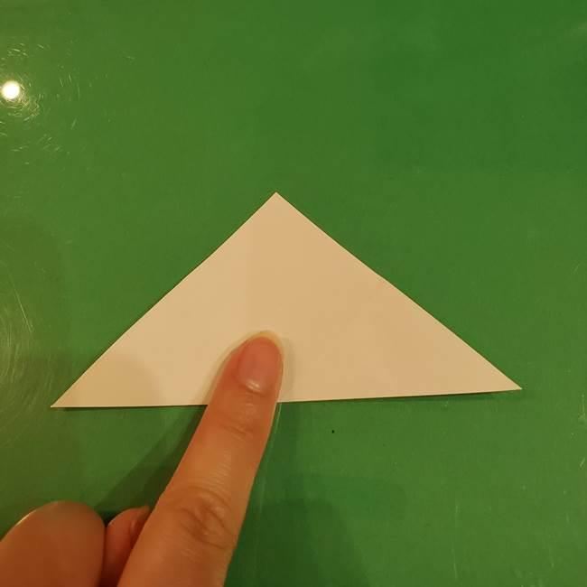 お月見団子のの折り紙(立体)の折り方作り方(6)