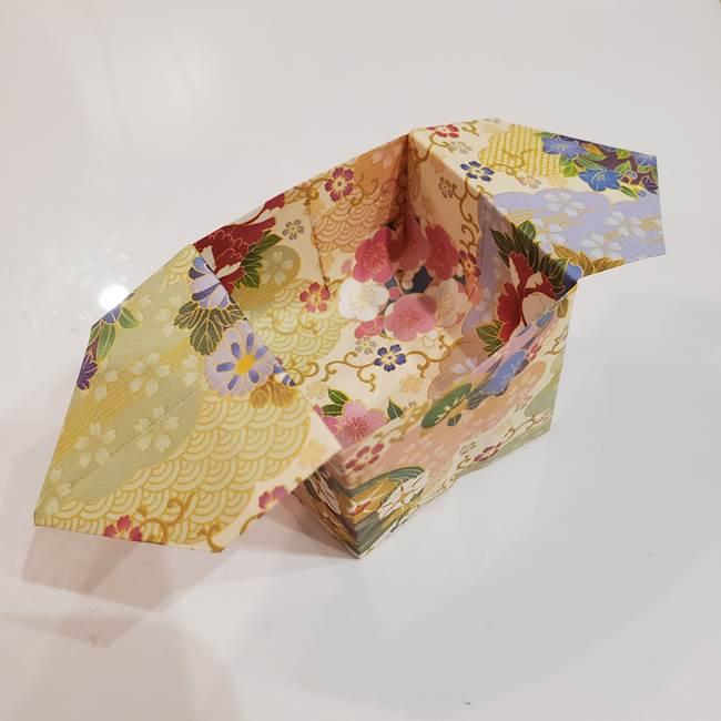 お月見団子の台の折り紙★三宝(三方)の折り方作り方は子供でも簡単!
