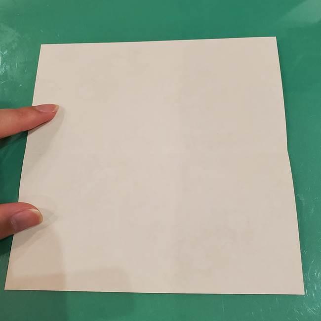 お月見団子の台の折り紙★三宝(三方)の折り方作り方(3)