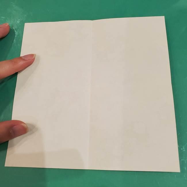 お月見団子の台の折り紙★三宝(三方)の折り方作り方(5)