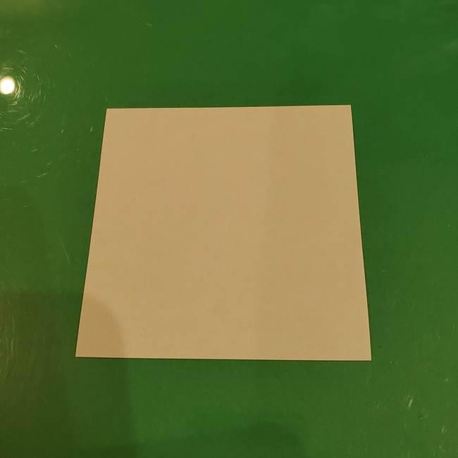 お月見団子の折り紙(立体)☆用意するもの