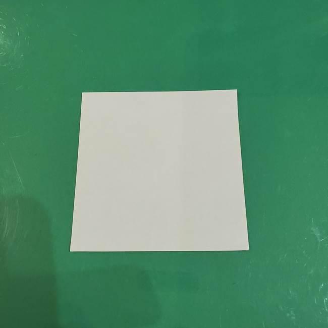 きのこの折り紙 簡単に子供も作れた折り方作り方②軸(1)