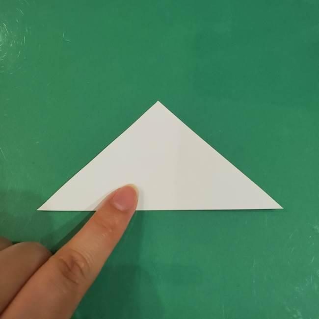 きのこの折り紙 簡単に子供も作れた折り方作り方②軸(2)