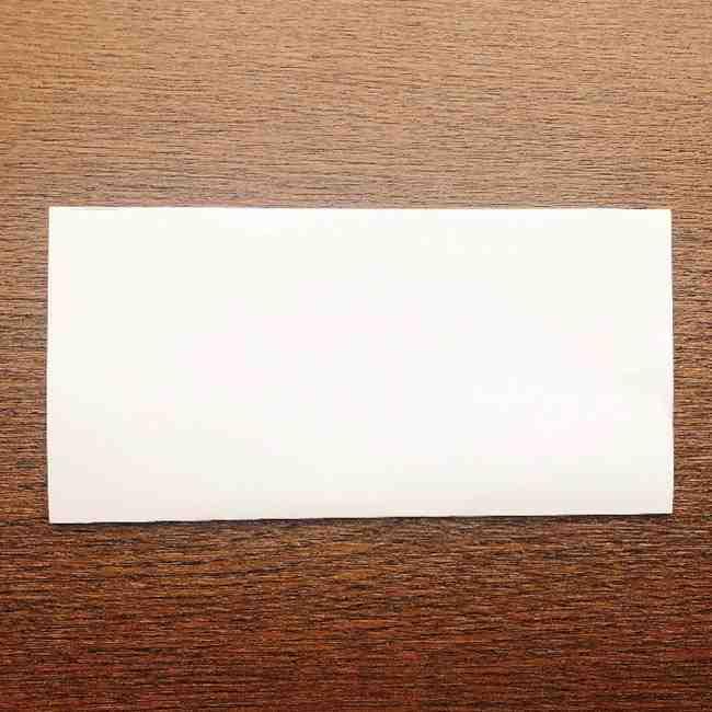 しょくぱんまん 折り紙の作り方折り方 (1)