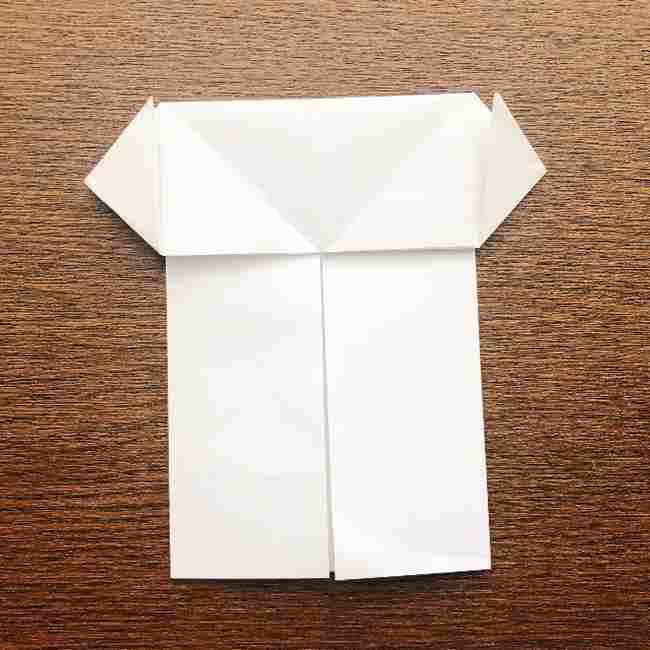 しょくぱんまん 折り紙の作り方折り方 (10)