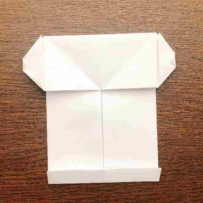 しょくぱんまん 折り紙の作り方折り方 (12)