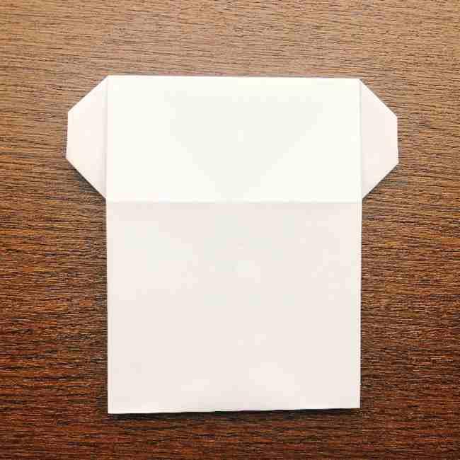 しょくぱんまん 折り紙の作り方折り方 (13)