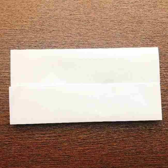 しょくぱんまん 折り紙の作り方折り方 (3)