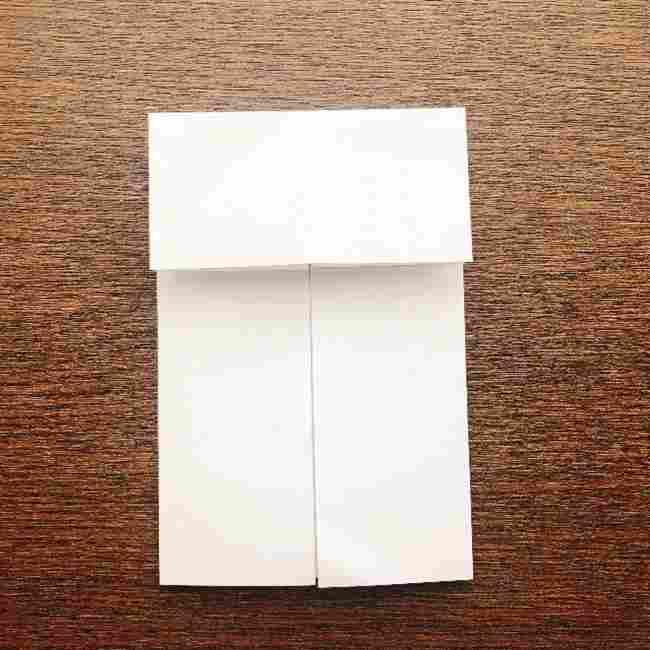 しょくぱんまん 折り紙の作り方折り方 (6)