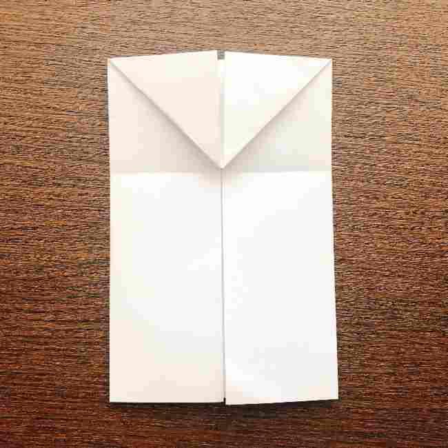 しょくぱんまん 折り紙の作り方折り方 (7)