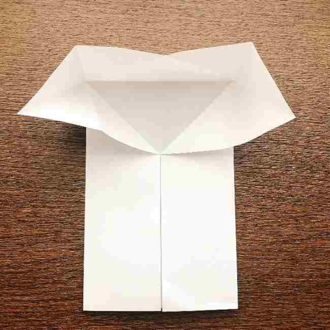 しょくぱんまん 折り紙の作り方折り方 (8)