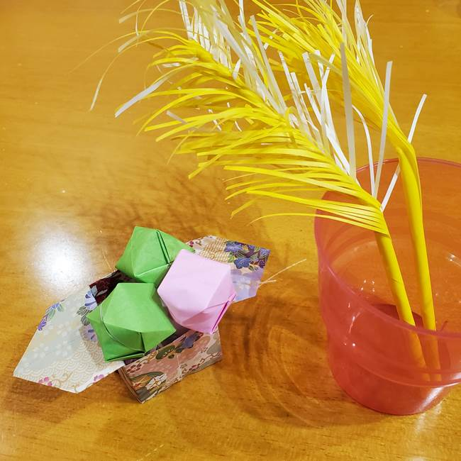 すすきの折り紙の折り方は簡単♪十五夜製作にピッタリ!