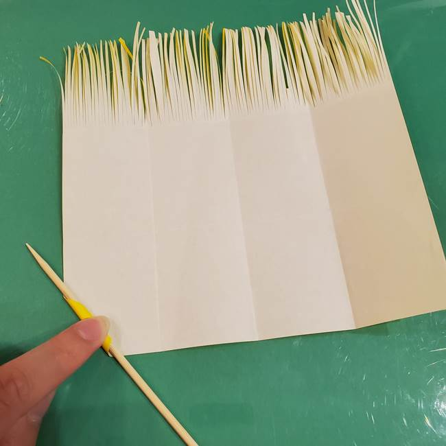 すすきの折り紙の簡単な折り方作り方(立体)(15)
