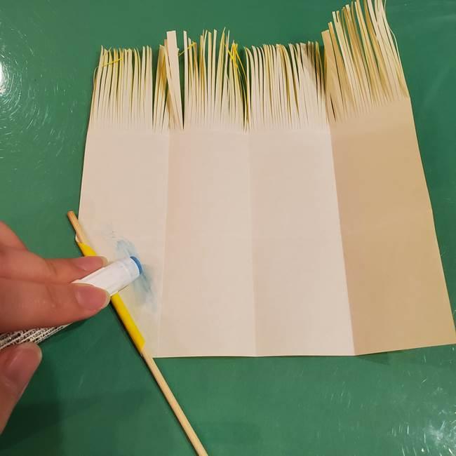 すすきの折り紙の簡単な折り方作り方(立体)(16)