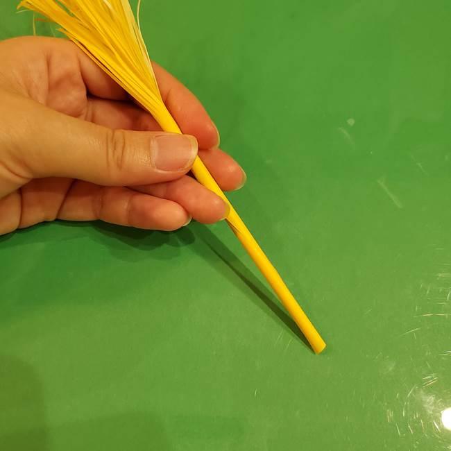 すすきの折り紙の簡単な折り方作り方(立体)(18)