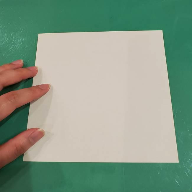 すすきの折り紙の簡単な折り方作り方(立体)(2)