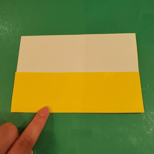 すすきの折り紙の簡単な折り方作り方(立体)(3)