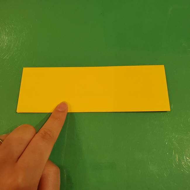 すすきの折り紙の簡単な折り方作り方(立体)(4)