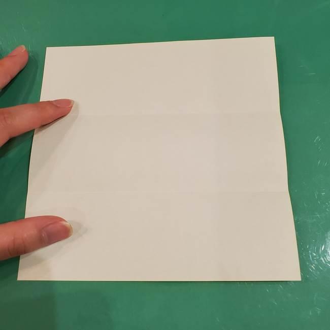 すすきの折り紙の簡単な折り方作り方(立体)(5)