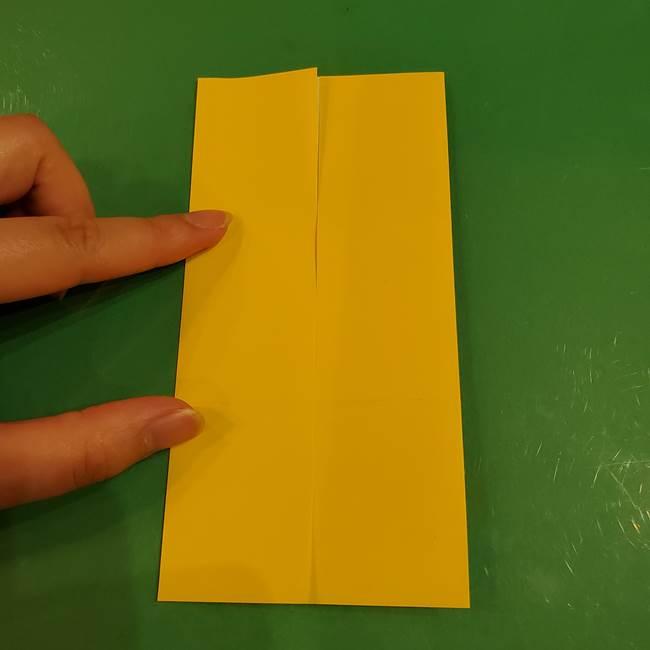 すすきの折り紙の簡単な折り方作り方(立体)(8)
