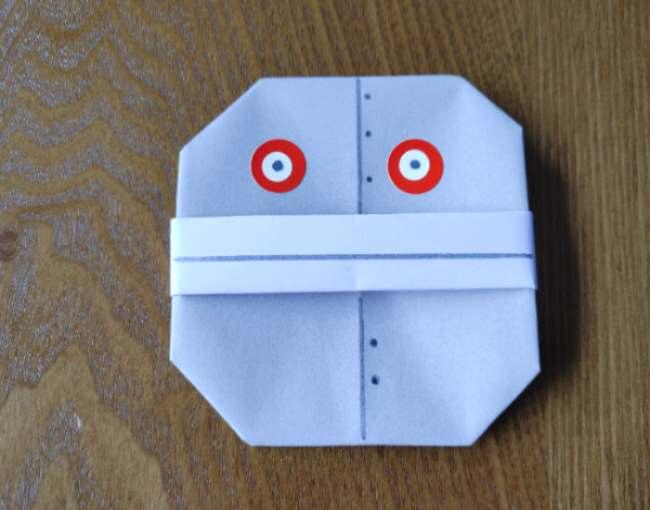 だだんだんの折り紙の折り方は簡単!4歳・6歳児の子供と手作りした作り方☆