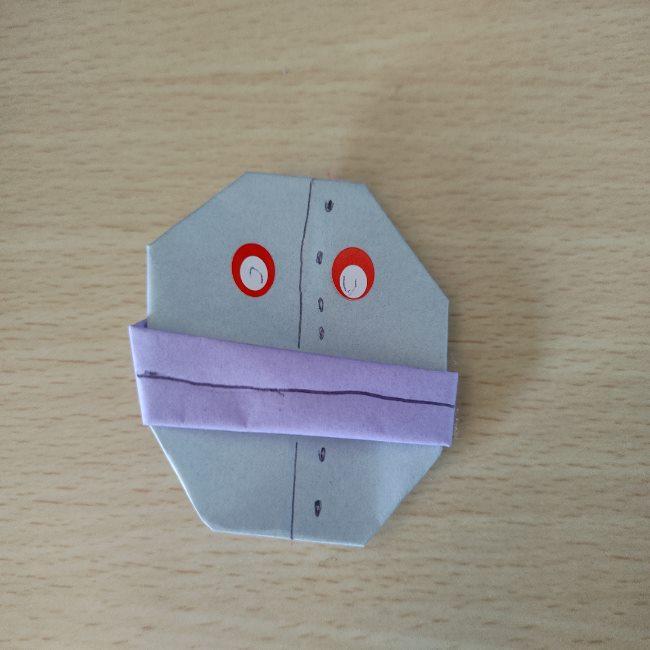 だだんだんの折り紙は簡単に作れる!6歳児と手作り♪