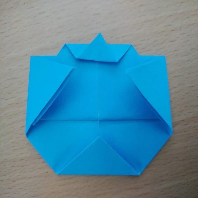 どんぶりまんトリオの折り紙の折り方作り方 (10)