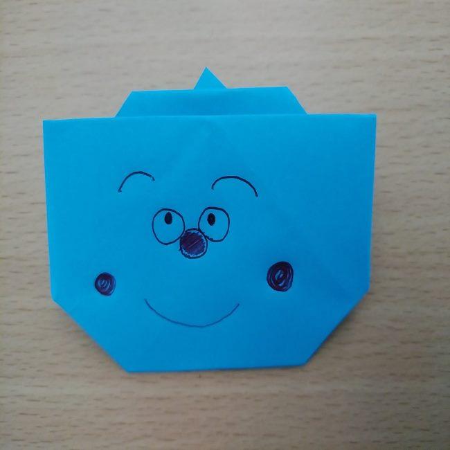どんぶりまんトリオの折り紙の折り方作り方 (11)