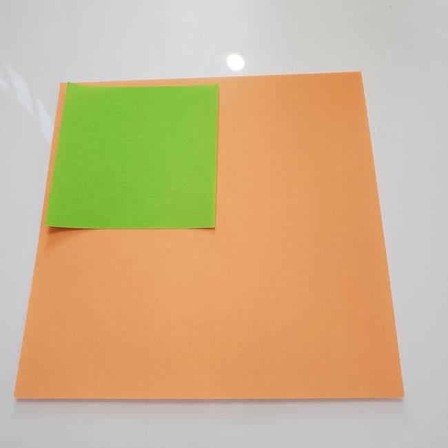 ほおずきの折り紙は平面で簡単!用意するもの