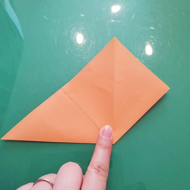 ほおずきの折り紙(平面) 簡単な折り方作り方①実(10)