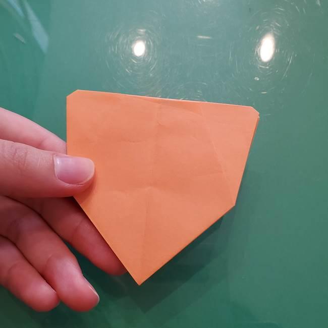ほおずきの折り紙(平面) 簡単な折り方作り方①実(26)