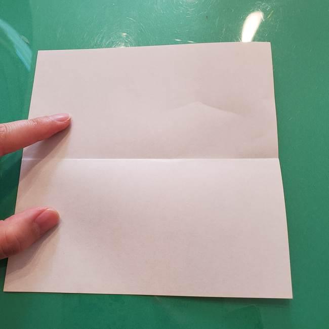 ほおずきの折り紙(平面) 簡単な折り方作り方①実(3)