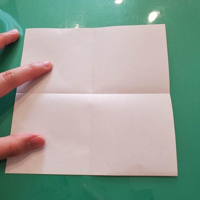 ほおずきの折り紙(平面) 簡単な折り方作り方①実(5)