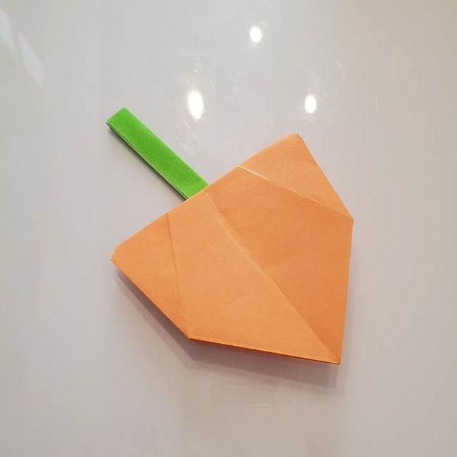 ほおずきの折り紙 平面で簡単な折り方作り方☆お盆の季節に鬼灯を手作り