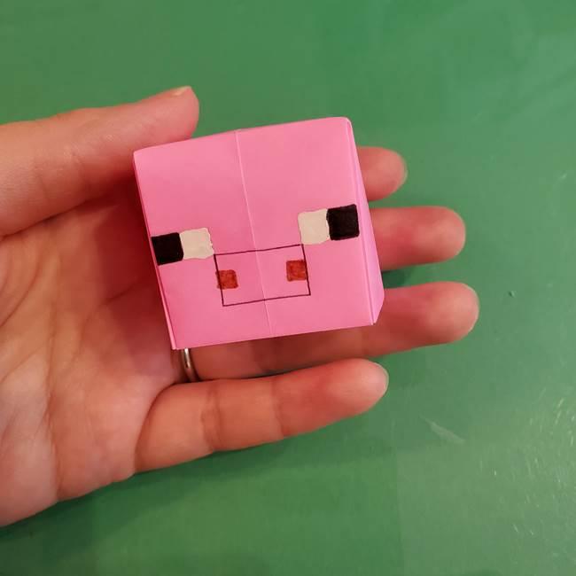 エンダーマンや豚も折り紙の色を替えて★マイクラの折り方は応用OK!(2)