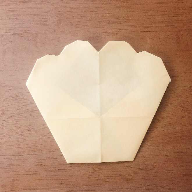 クリームパンダの折り紙 簡単な作り方折り方 (10)