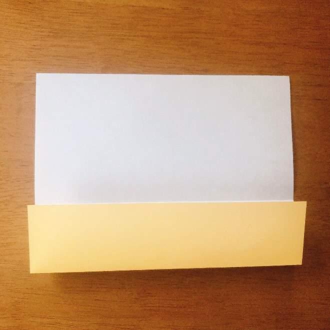 クリームパンダの折り紙 簡単な作り方折り方 (2)