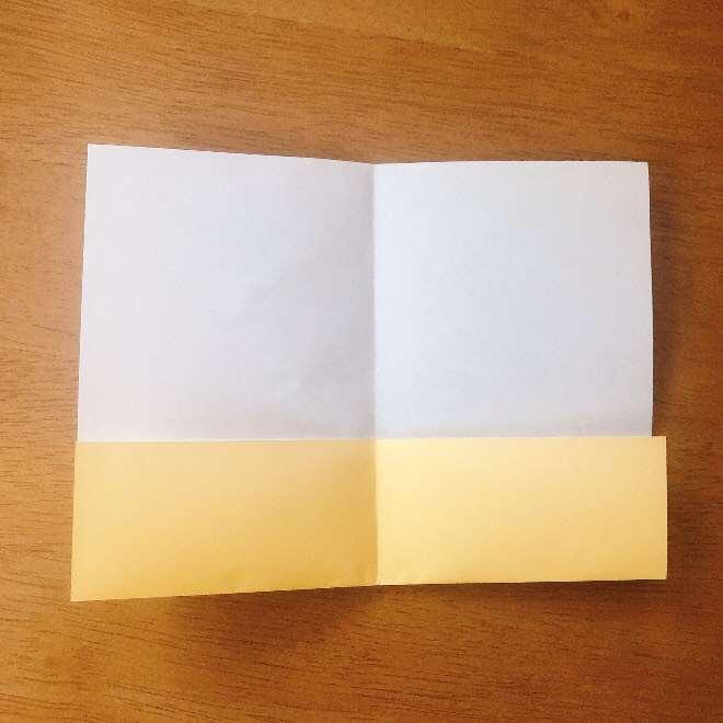 クリームパンダの折り紙 簡単な作り方折り方 (4)