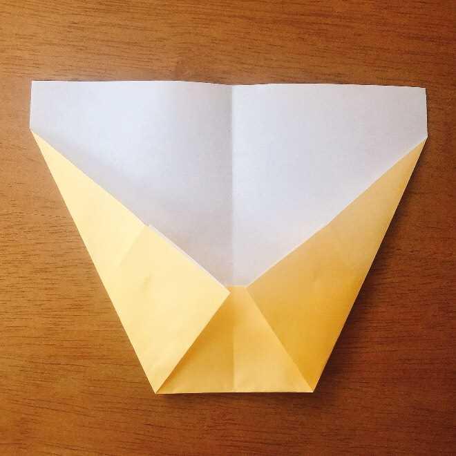 クリームパンダの折り紙 簡単な作り方折り方 (5)