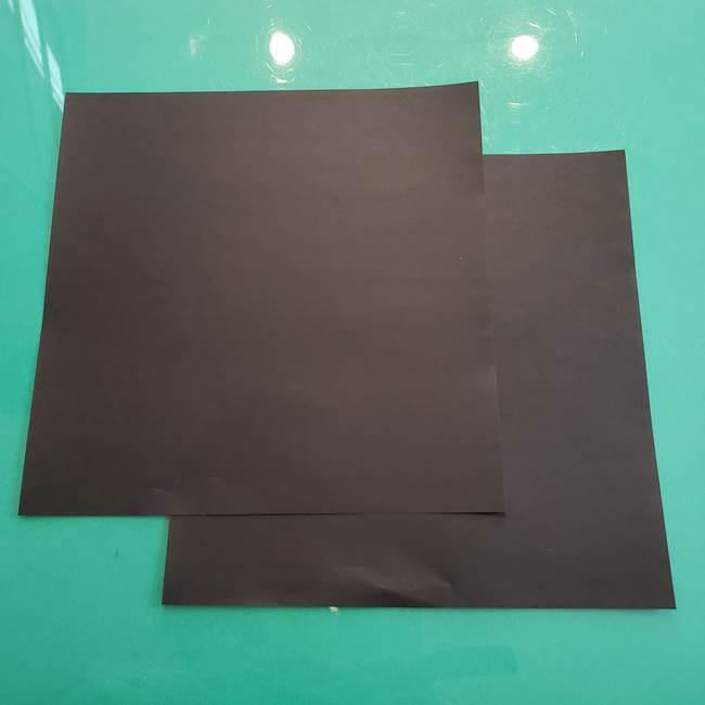 クロミちゃんの折り紙の折り方は簡単♪用意するもの1
