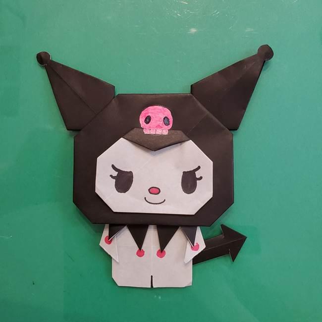 クロミちゃんの折り紙の折り方作り方は簡単!サンリオキャラクターを手作り♪