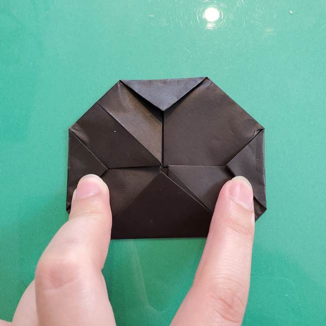 クロミちゃんの折り紙 折り方作り方①顔1(9)